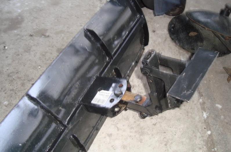 Снеговая лопата для мотоблока своими руками
