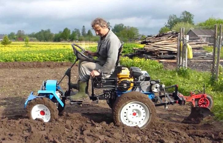 Трактор своими руками чертежи и видео