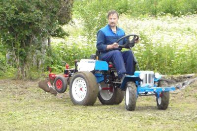 Трактор з мотоблока своїми руками