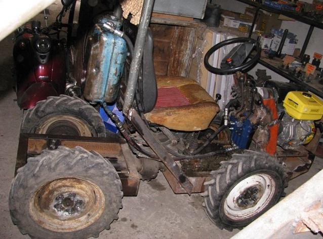 мини тракторы самоделки из мотоблока видео