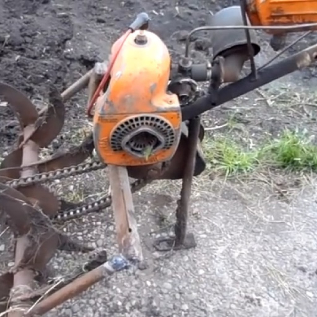 Мотоблок своими руками с двигателем муравей