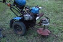 Как сделать самодельный мотоблок с двигателя мотоцикла, фото видео инструкции