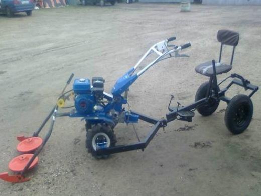 Навесное оборудование для крота