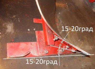 Размеры плуга для мотоблока фото