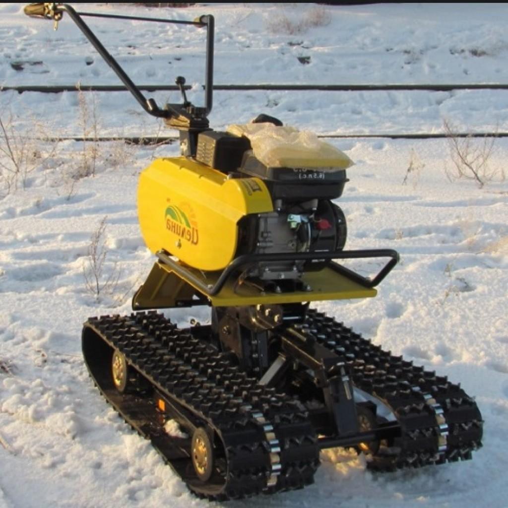 иотокультиватор для передлки мотоцикла в снегоход ей