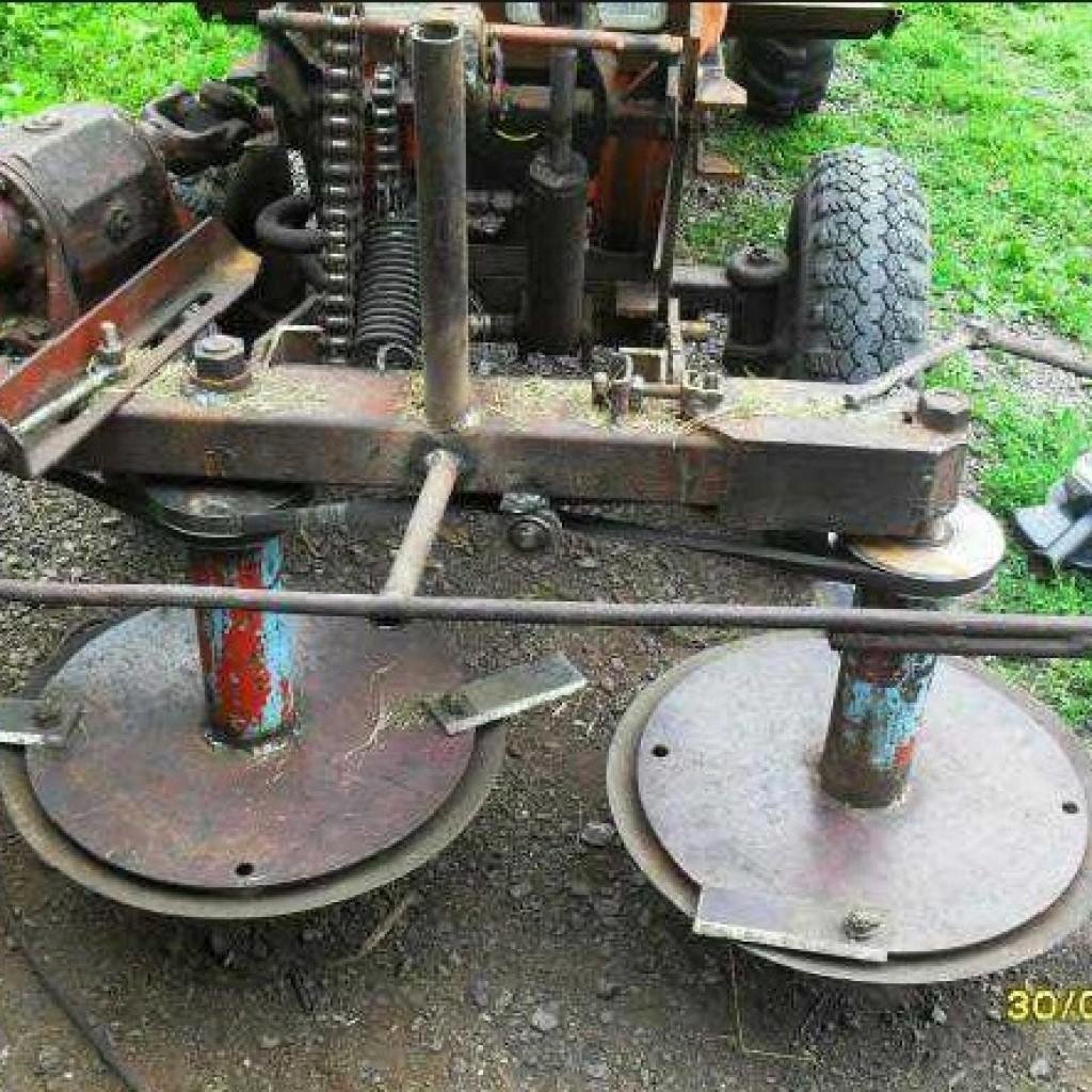 Роторная косилка для трактора т 25 своими руками