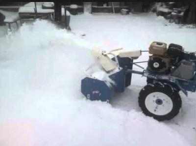 снегоочиститель своими руками фото