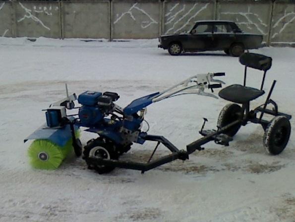 Снегоуборщик на мотокультиватор своими руками