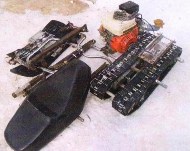 Как сделать из мотоблока снегоход своими руками фото 418
