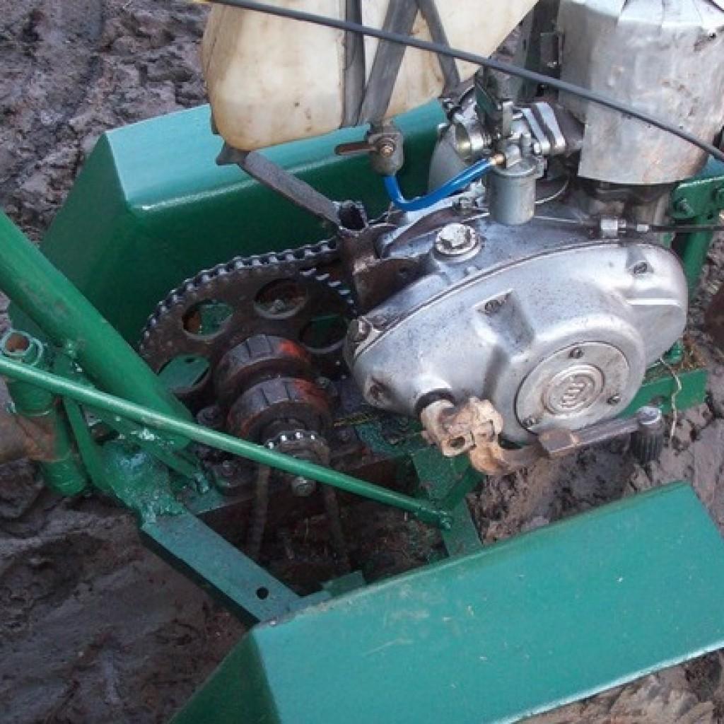 Самодельный мотокультиватор своими руками из двигателя минск
